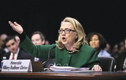 Hillary Clinton testifica ante el Congreso