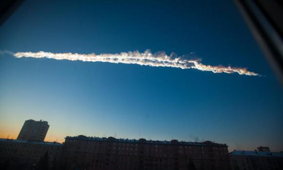 Un meteorito cae en Rusia