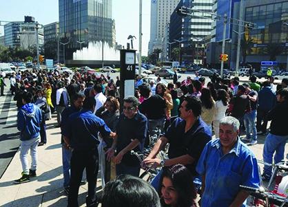 Mexico, Dos sismos sacuden al pais