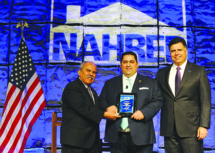 Juan Martinez is installed as NAHREP president
