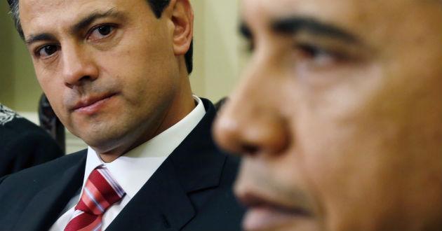 Obama y Peña Nieto hablan
