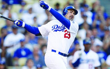 Adrian Gonzalez es numero uno
