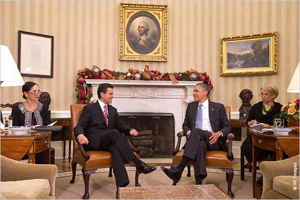 Acepta Obama visita a México - Costa Rica