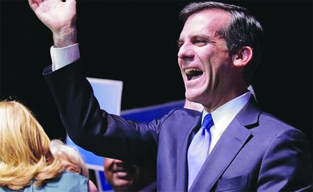 Eric Carcetti es el nuevo alcalde de Los Angeles