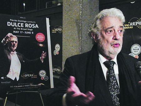 'Dulce Rosa' conversación con Plácido Domingo