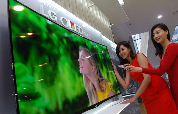 LG Ahora aceptamos Pre-pedidos para la primera curva OLED TV
