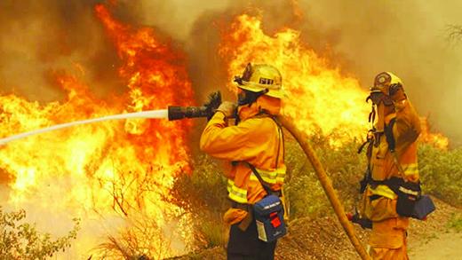 Prevén incendios en California