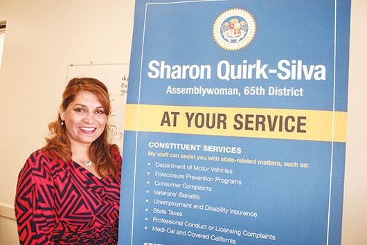 Sharon Quirk-Silva, Legisladora que escucha