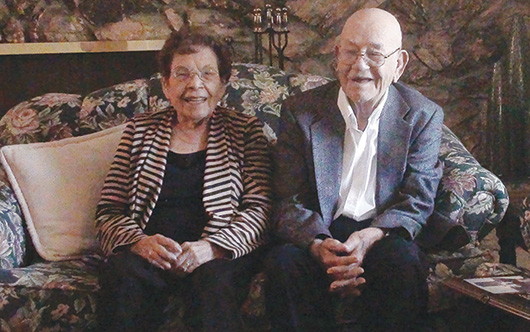 Celebran 75 años de casados