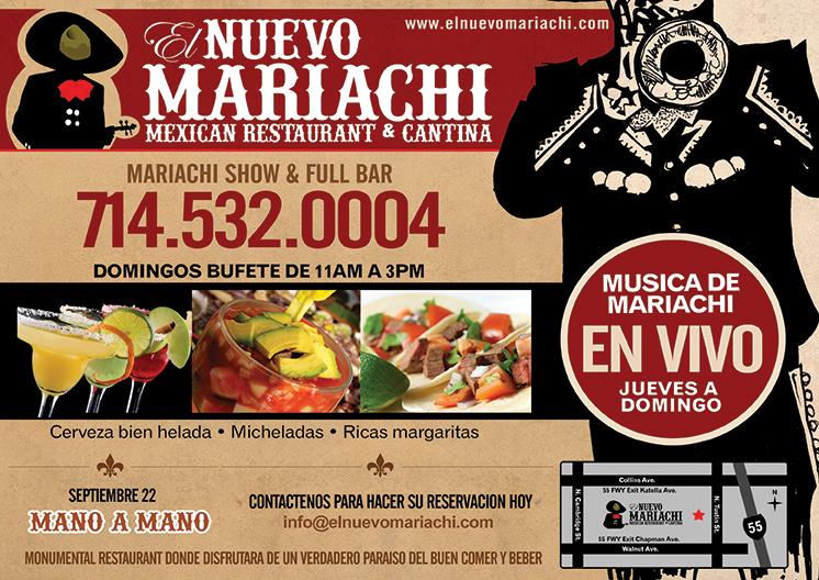 El Nuevo Mariachi, Mexican Restaurant & Cantina