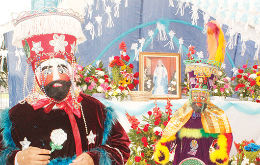 Así son las fiestas de Corral Falso, Guerrero