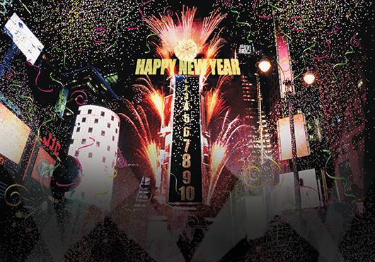 Celebrando en Año Nuevo en Fullerton