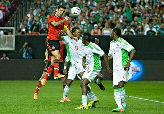 México empata con Nigeria