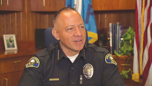 Nuevo jefe de Policía de Anaheim