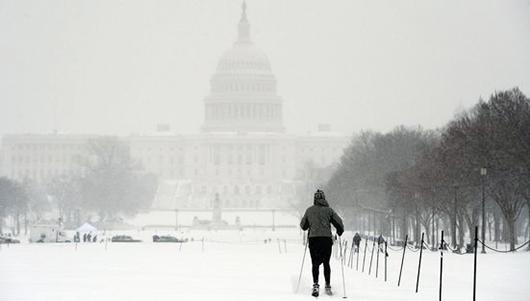 Frío extremo en Estados Unidos