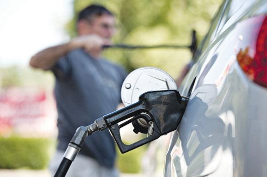 Alza en la gasolina
