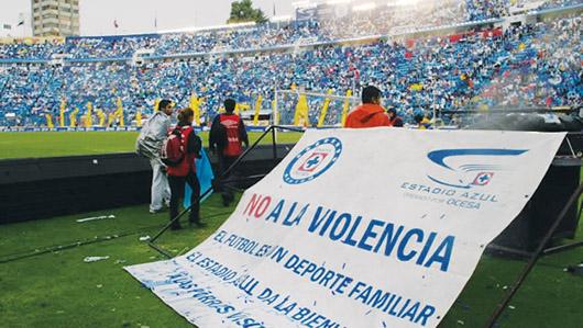 Lanzan campaña contra la violencia en el deporte