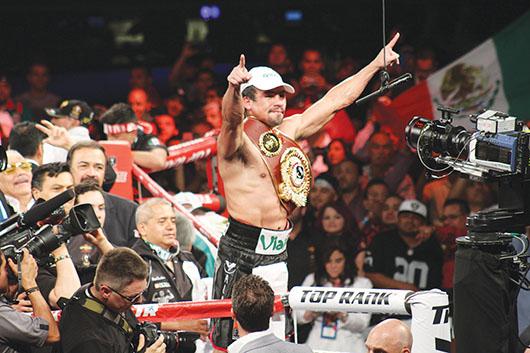 Márquez apunta a Pacquiao