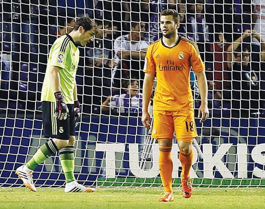 Real Madrid empata y Man. City gana