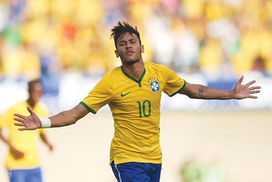 Brasil ensayó ante Panamá