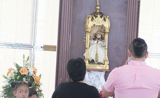 Santo Niño de Atocha,  'protector de los peregrinos'