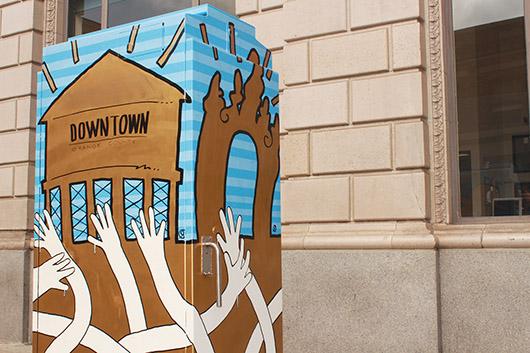 Arte público en Santa Ana