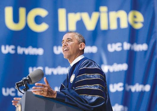 Presidente Obama en Orange County