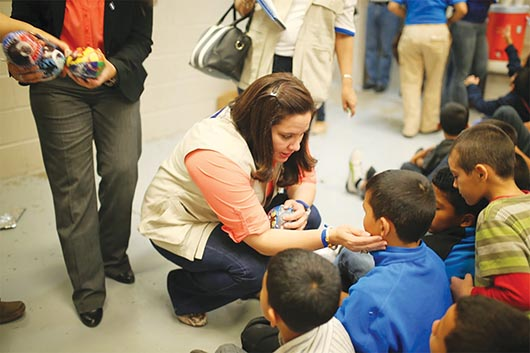 Niños migrantes llegan a Orange County
