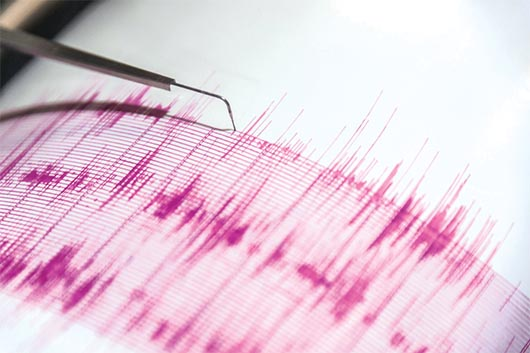 Un temblor de magnitud 5.4