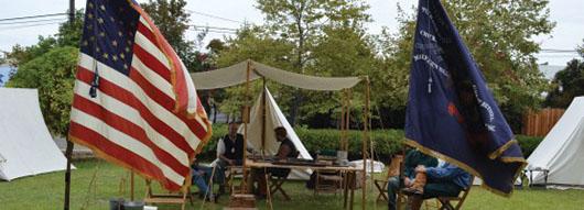 Orange County, en los días de la Guerra Civil