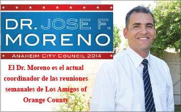 Se lanza como concejal de Anaheim