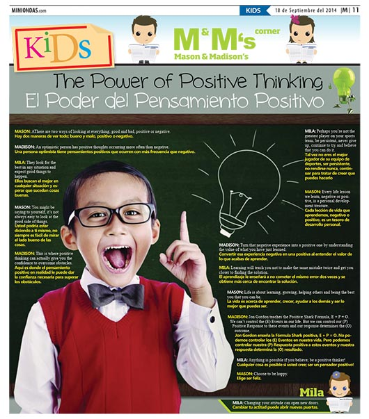The Power of Positive Thinking/El Poder del Pensamiento Positivo