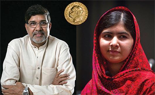 Malala Yousafzai y Kailash Satyarthi ganan Premio  Nobel de la Paz