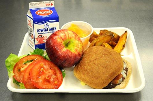 Desayunos y lunch gratis a todos los  estudiantes de Santa Ana
