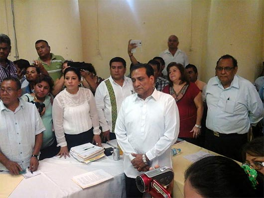 Congreso de Guerrero rechaza toma de protesta de alcalde de Iguala