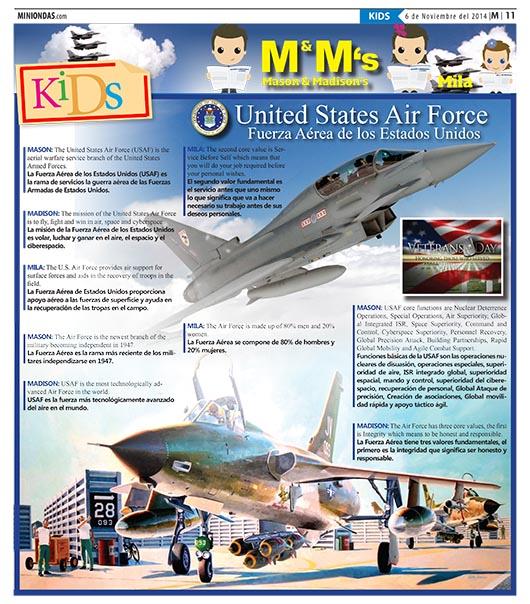 United States Air Force/Fuerza Aérea de los Estados Unidos