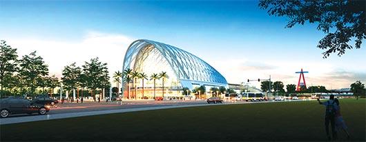 Se inaugura el Anaheim Regional Transportation Intermodal Center (ARTIC)
