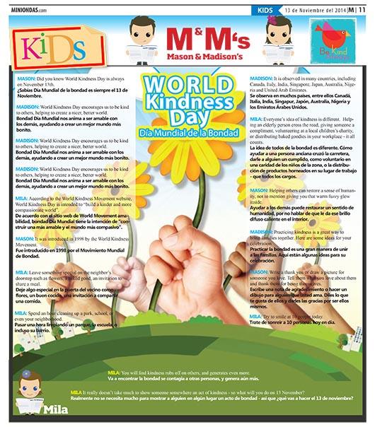 World Kindness Day/Día Mundial de la Bondad