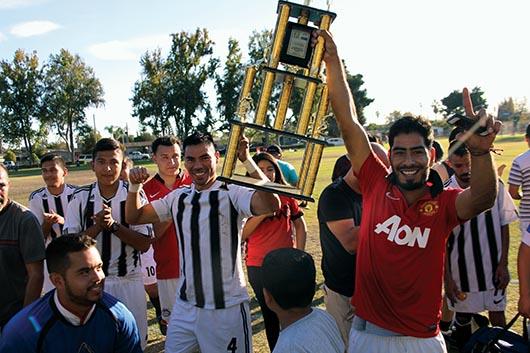 Cuadrangular  por centro comunitario en Guanajuato