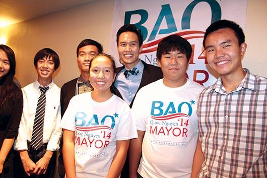Bao Nguyen de la nueva generación de políticos de Orange County