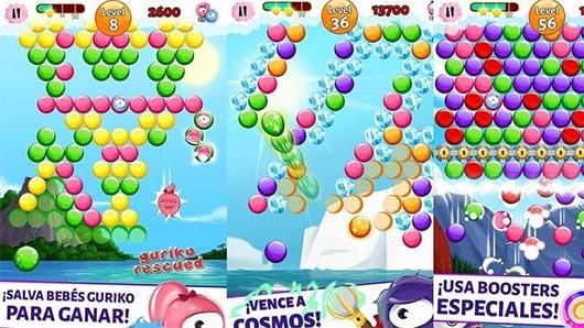 Bubble Guriko: el juego de burbujas español