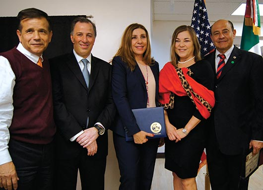 México lanza desde Santa Ana campaña de emisión de actas de nacimiento