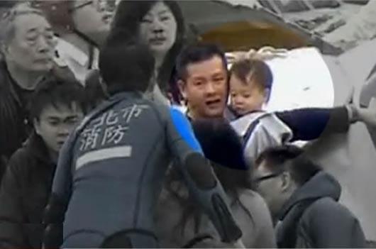 Una corazonada salvó a una familia en el avión que se estrelló en Taiwán