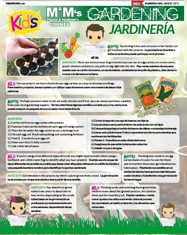 Gardening/Jardinería
