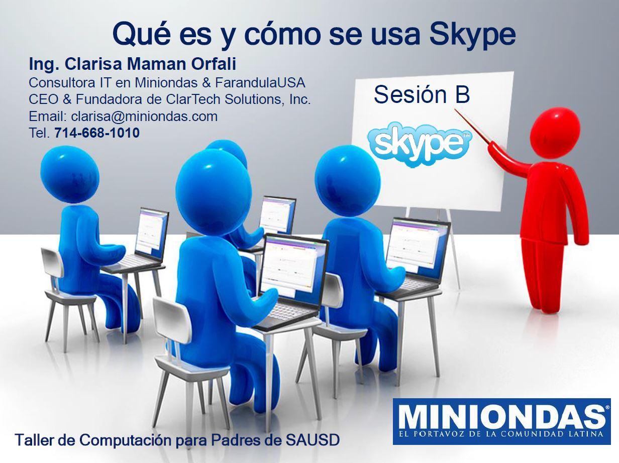 Qué es y cómo se usa Skype