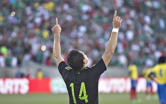 Javier Hernández y una oportunidad