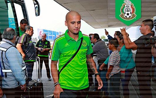 La selección nacional de México ha llegado a San Antonio