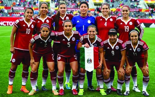 La selección femenil de México se enfrenta a Francia