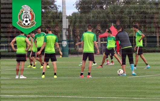 La Selección Nacional de México, en Orlando