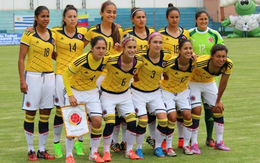La selección femenil listas para enfrentar a Colombia en Canadá
